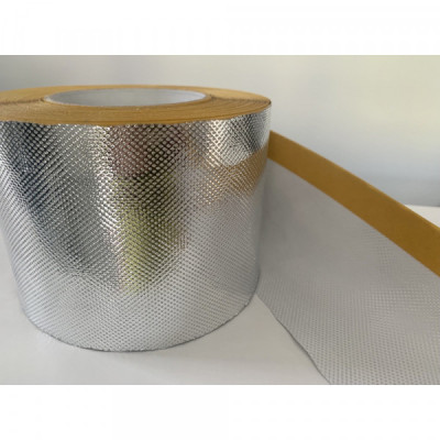 Taśma aluminiowa gładka 75mm x 50mb